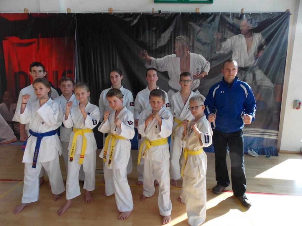 Warszawska Olimpiada Młodzieży w Karate Kyokushin