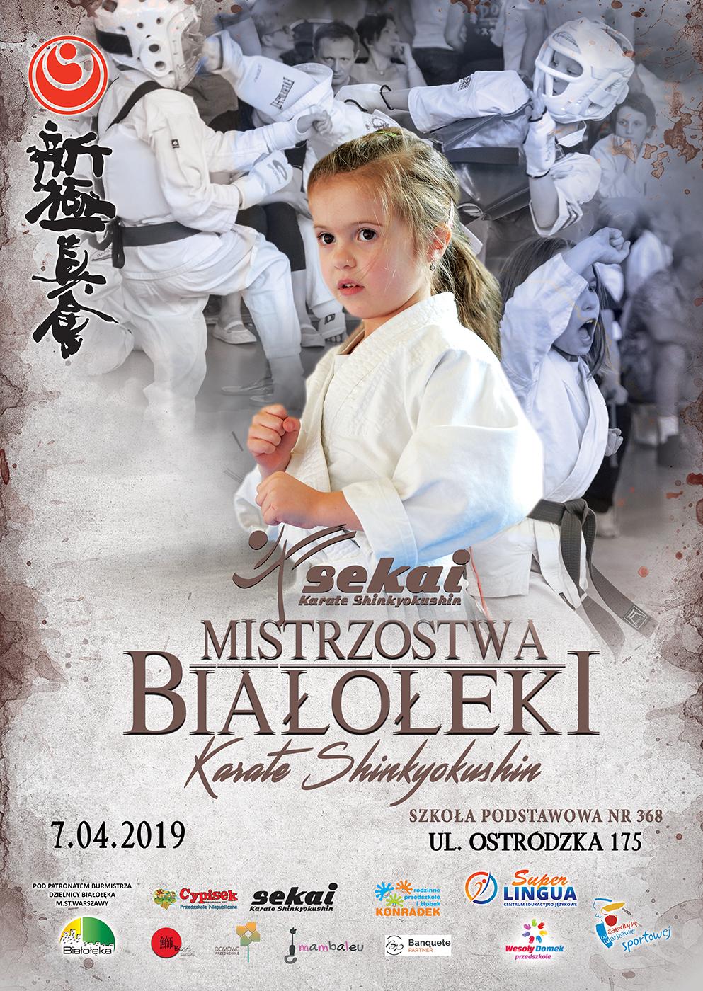 Mistrzostwa Białołęki w Karate Shinkyokushin 2019