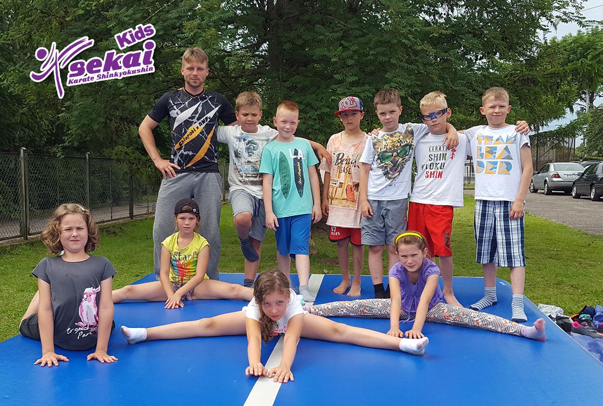 Obóz Sportowy – Lato 2019 SEKAI Kids – Dołącz do Nas już dziś