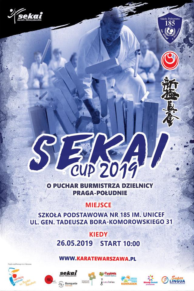 Sekai CUP 2019 o Puchar Burmistrza Dzielnicy Praga-Południe
