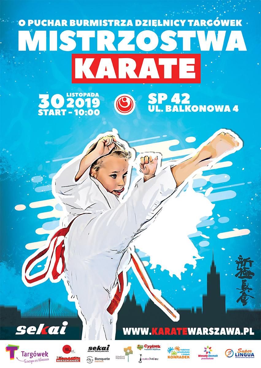 Mistrzostwa Karate o Puchar Burmistrza Dzielnicy Targówek