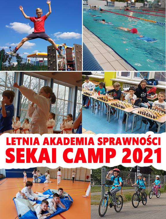 Sekai Camp 2021 – Letnia Akademia Sprawności – Półkolonie