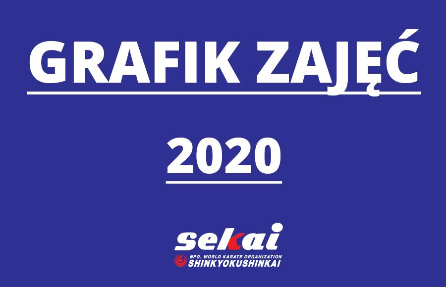 Grafik zajęć 2020