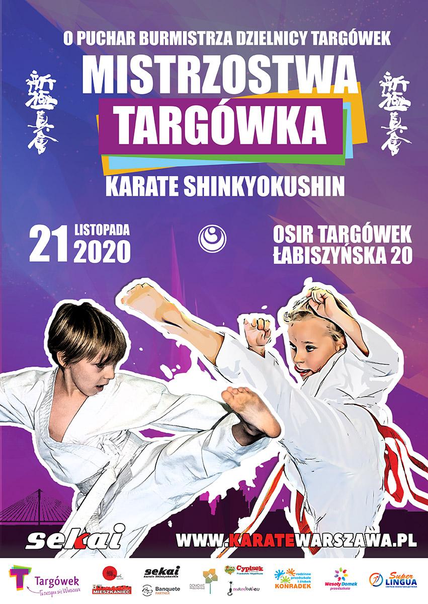 Mistrzostwa Targówka w Karate Shinkyokushin o Puchar Burmistrza Dzielnicy Targówek